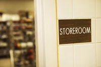 Organized storage systems can make your restaurant run more efficiently.