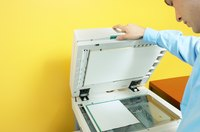 Use a photocopy machine to enlarge a paper pattern.