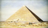 The Pyramid of Cheops is the oldest of the Seven Wonders of the World.