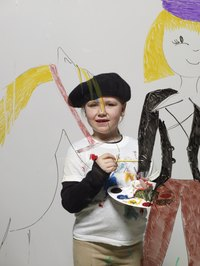 Art compeititions will showcase children's artistic talents.