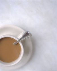 Use table cream, coffee cream or evaporated milk in coffee.