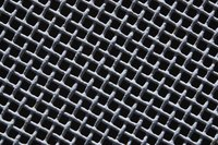 Metal is one of the many different types of materials used in lattice construction.