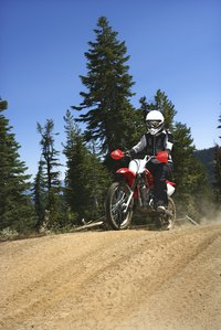Off-road racers can earn a substantial salary if they are on a winning team.