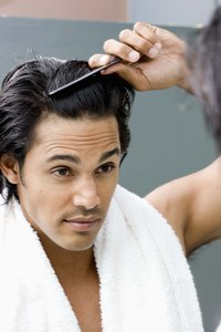 Frequent shampooing helps control dandruff.