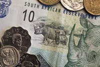 South African currency.