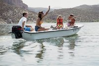 Boating is a great family activity during the summer.