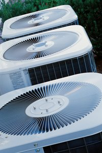 Clean a central air conditioner before the cooling season begins.