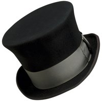 The tradional top hat for groomsmen.