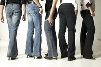 Cotton jeans are durable and form to various body shapes.