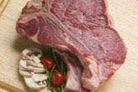 T-bone steaks cook best at high temperatures for a short period of time.