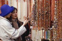 Purchase strands of assorted beads on sale to boost your bead collection.
