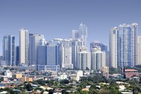Ortigas Center is split across Pasig City, Mandaluyong City and Quezon City.