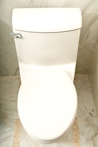 Energy-efficient toilets are replacing older models.