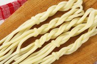 Braided string cheese.