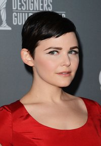 Ginnifer Goodwin sports a breakout-free complexion at the 15th Annual Costume Designers Guild Awards in Beverly Hills.