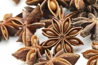 Star anise adds a sweet element to Chinese five spice powder.