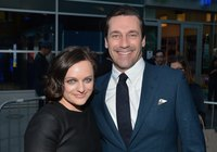 The cast of Mad Men opt for a preppy look on and off screen.