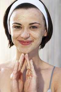 Sugar scrubs can be used on both the face and body.