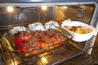 Convection ovens allow a variety of foods to cook simultaneously.