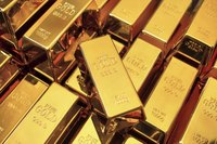 While a U.S. bank can store gold bars, they are generally purchased through private dealers.