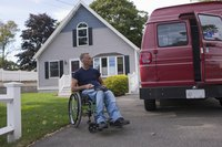 Powered lifts and kneeling suspensions are common wheelchair adaptations