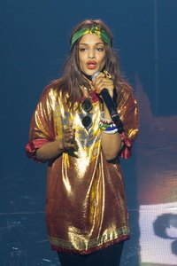 M.I.A. has cultivated a signature look that has been copied by fans all over the world.