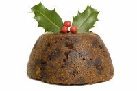 "A basic bowl creates the classic ""figgy pudding"" shape, but you can also use a fluted cake pan."