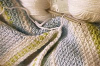 Single crochet creates a warm, dense fabric that's perfect for blankets.