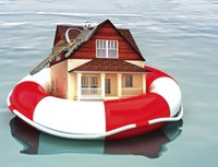 Homeowners who can't stay afloat may request a deed-in-lieu.