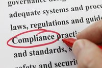 The Internal Revenue Service requires record-keeping compliance, as do some business partners.