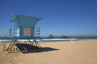 Huntington Beach provides lifeguard-patrolled beaches and a kid-friendly walking pier.