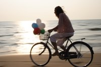 There's nothing like a ride on a beach cruiser along one of Southern California's beach bicycle paths.