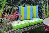 Outdoor cushions need materials that are quick-drying and mold-resistant.
