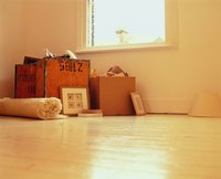 Repair unsightly scratches in your laminate floor.