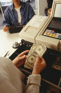 A creditor may be able to take money directly from your business.