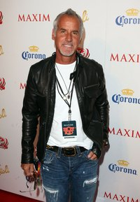 Jeffrey Lubell , founder, chairmen and CEO of True Religion, sports his favorite pair of denim on the red carpet.