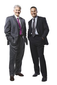 Men's suits come in a variety of styles for different occasions.