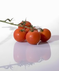 Naturally, fresh tomatoes are the main ingredient.