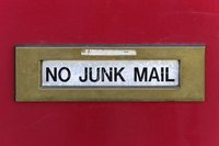 You can reduce junk mail by removing your name from national mailing lists.