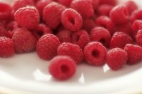 Raspberries are a summertime favorite.