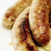 Remove the casings when you cook frozen sausage.