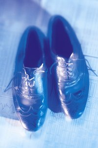 Restore old wingtip shoes  with the right tools.