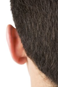 Ear hair can be quickly and painlessly removed.
