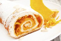 Let the pumpkin roll cool completely before freezing it.