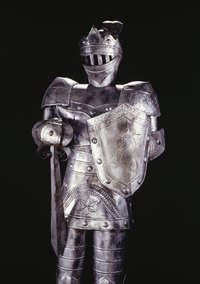 You can make a medieval armor costume using household materials.