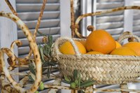 Use leftover oranges to create homemade orange deodorizers.
