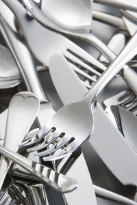 Most stainless steel flatware is 18/10.