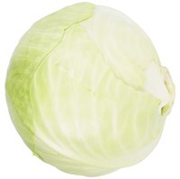 Starting with fresh cabbage ensures a crisp slaw.