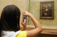 "The ""Mona Lisa"" is the most famous painting in the Louvre, but the visitor has over 7,500 more to choose from."