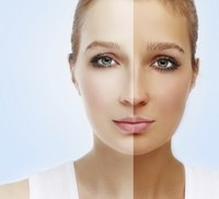 Good marketing that shows the difference a spray tan can make can help promote your business.
